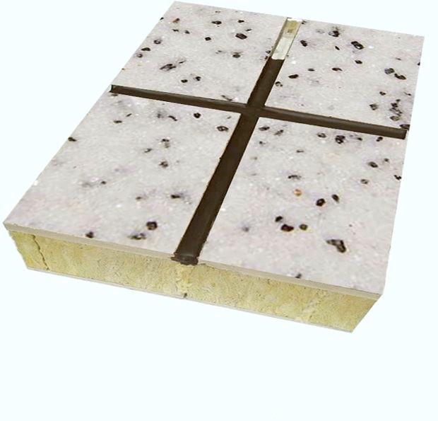 真石漆外墙保温一体板